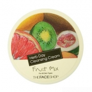 herb day 365 cleansing cream - tẩy trang hoa quả the face shop