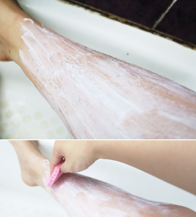 Kem tẩy lông Etude House Put your hands up in shower hair removal cream
