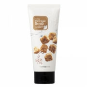 Tẩy da chết The Face Shop Honey Black Sugar Scrub