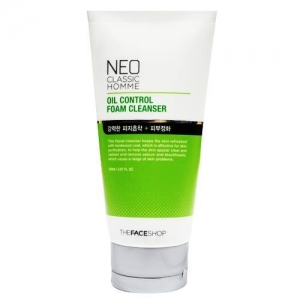 Neo Classic Homme Oil Control Foam Cleanser | for Men