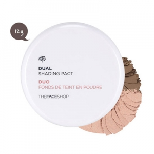 Phấn tạo khối The Face Shop Dual Shading Pact