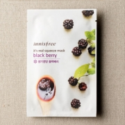 Mặt nạ miếng Innisfree It's Real Squeeze Mask Black Berry