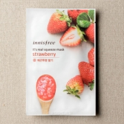 Mặt nạ miếng Innisfree It's Real Squeeze Mask Strawberry