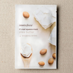 Mặt nạ miếng Innisfree It's Real Squeeze Mask Shea Butter