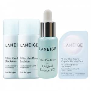 Laneige White Plus Renew Trial Kit (4 Items)