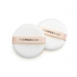 Bông tán phấn The Face Shop Round Flocked Puff