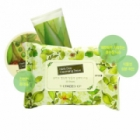 Khăn tẩy trang THE FACE SHOP Herb Day Cleansing Tissue