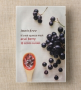 Mặt nạ miếng Innisfree It's Real Squeeze Mask Acai Berry
